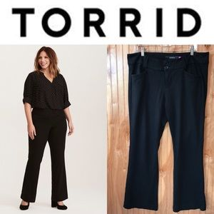 Torrid black slacks